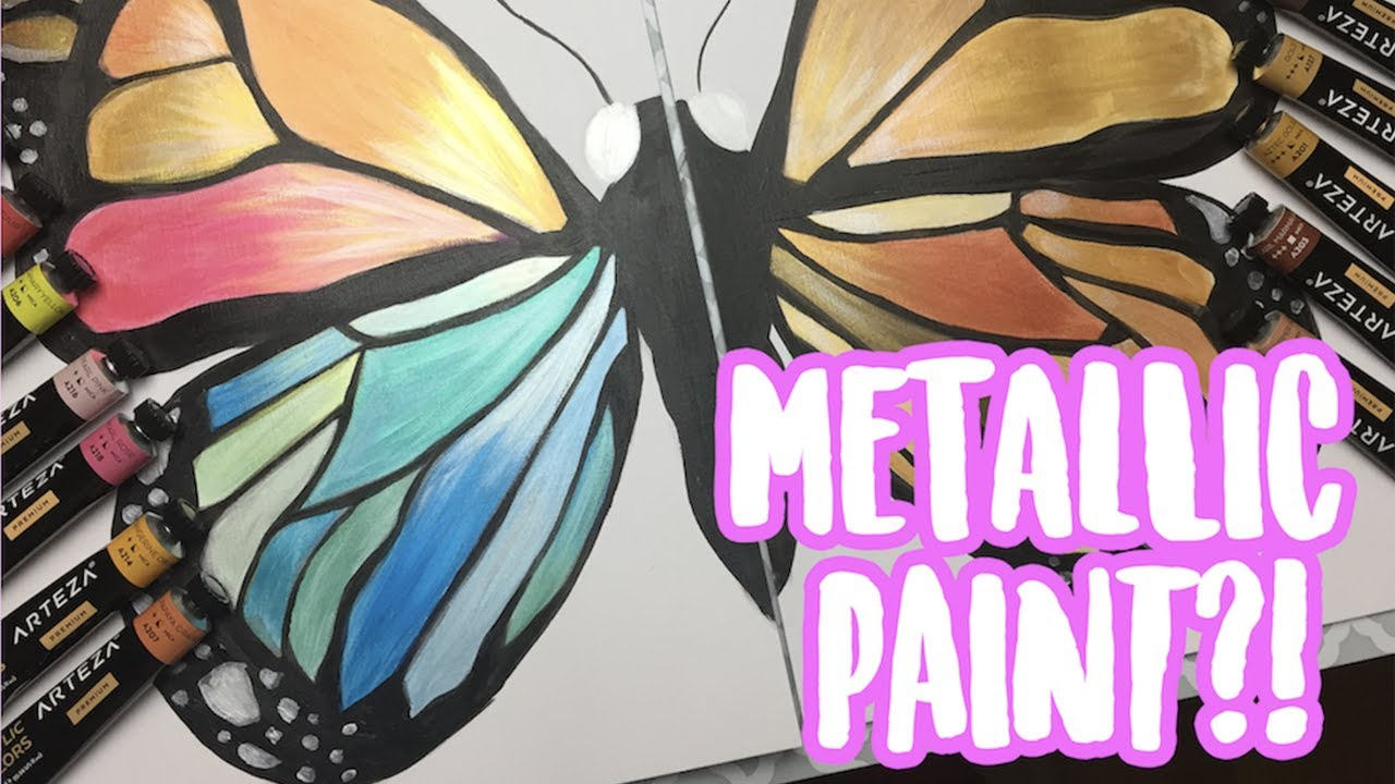 Is The Arteza Metallic Acrylic Paint Worth The Hype Art Supply Review
