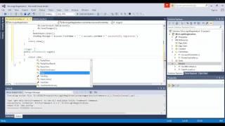 How to create Custom Login Registration in Asp.Net MVC 5 (Code First)