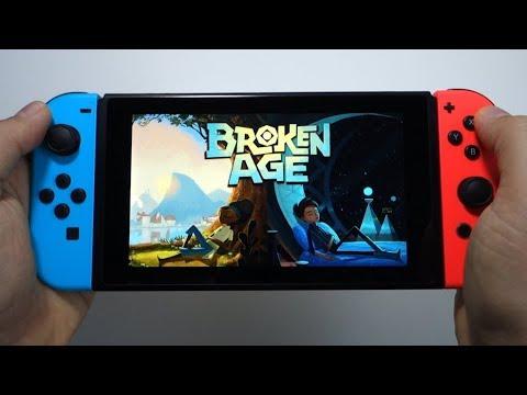 Broken Age Nintendo Switch Gameplay