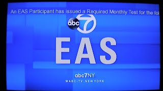 NYC Required Monthly Tests (EAS #791-794)