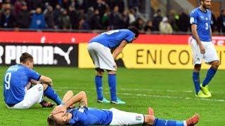 La più grande disfatta del calcio italiano?| SIAMO FUORI DAI MONDIALI| ITALIA - SVEZIA 0-0