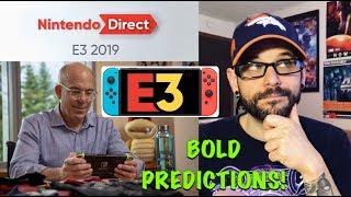 Nintendo E3 2019 Direct last minute BOLD PREDICTIONS!   Ro2R