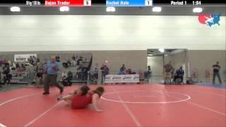 FILA Junior 59 kg / 130 lbs. - Dajan Treder vs. Rachel Hale