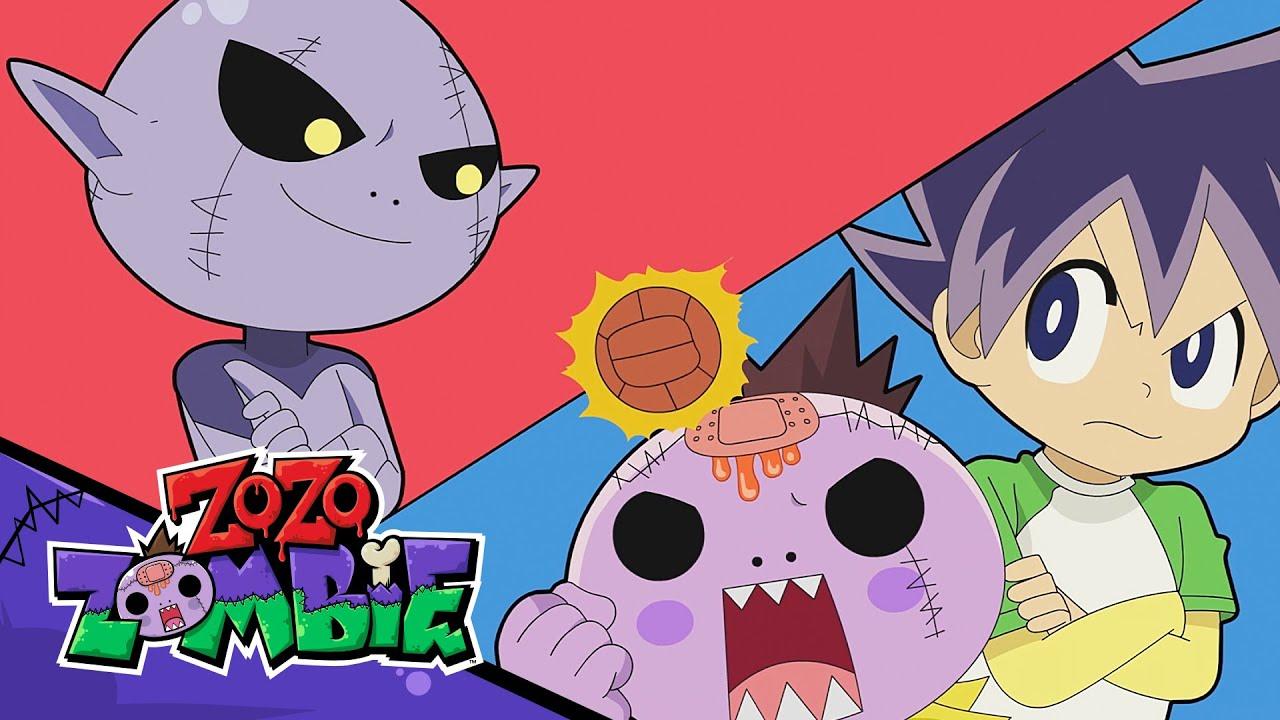 Zo Zo Zombie DODGEBALL vs Team Snot Zombie!