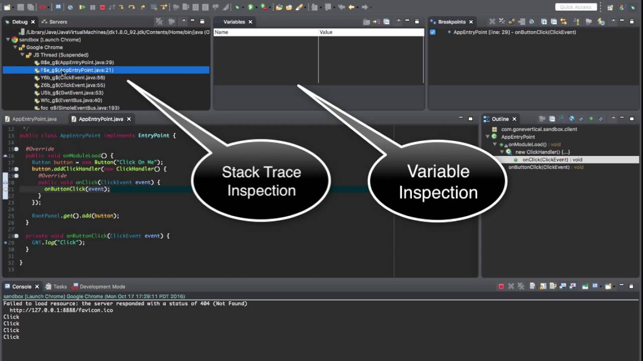 GWT Eclipse Plugin V3 - SDBG Javascript Debugger