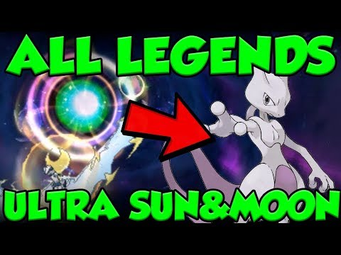 How to Catch ALL Legendary Pokemon in Ultra Sun and Moon Wormholes - Legendary Pokemon Locations