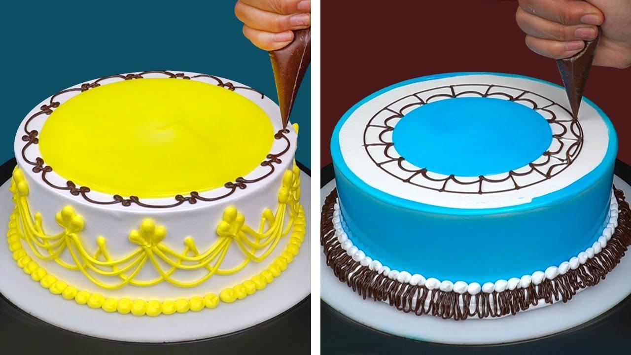 Amazing Creative Chocolate Cake Decorating Ideas For Everyone   So Yummy Chocolate Cake Recipes
