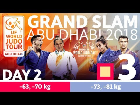 Judo Grand-Slam Abu Dhabi 2018: Day 2 - Day 2: Tatami 3
