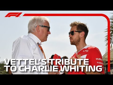 Sebastian Vettel Delivers F1 Drivers' Tribute To Charlie Whiting