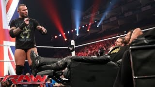 Randy Orton and Seth Rollins� Extreme Decision: Raw, April 13, 2015