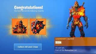 DÉBLOQUER THE STEP 2 SECRET OF THE SKIN RUIN on FORTNITE. (Max Style)