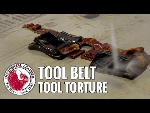 Tool Torture: Occidental Leather Tool Belt
