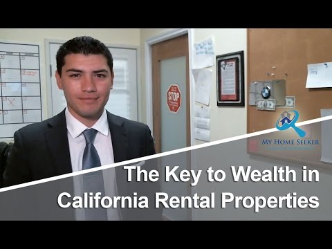 California Real Estate Agent: The Key to Wealth in California Rental Properties