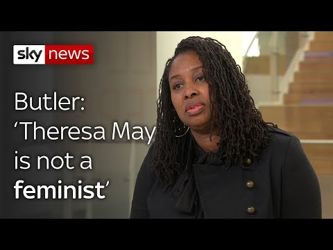 Butler: Theresa May is not a feminist