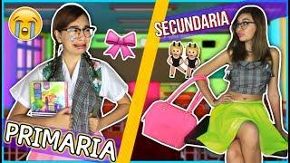 ¡PRIMARIA V.S SECUNDARIA! - REGRESO A CLASES ♥ Lulu99