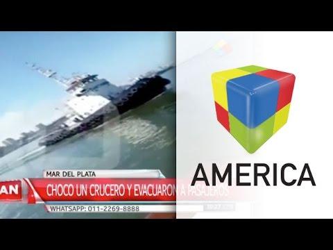 Increíble: un remolcador chocó contra el buque Anamora