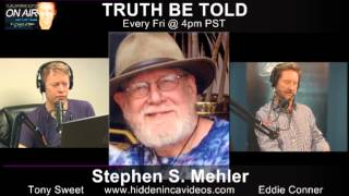 Author and Egytologist Stephen Mehler Talks with TRUTH BE TOLD