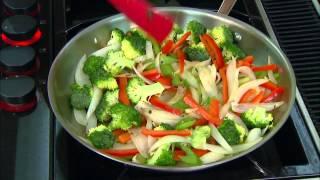 Vegetable Fettuccine