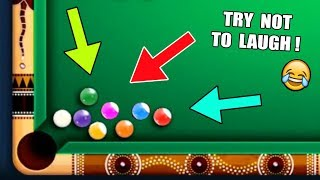 INCREDIBLE 8 Ball Pool Snooker With The KING CUE [I Bet My iPhone X You'll Laugh]