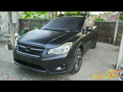 PLASTI DIP review pengerjaan Subaru di Bali