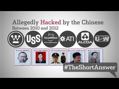 Chinese Hackers Shamed by U.S.