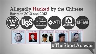 Chinese (Hackers) Shamed by U.S.  5/20/14