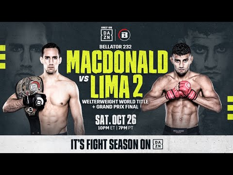 Bellator 232: MacDonald Vs. Lima 2 (Undercard Livestream)