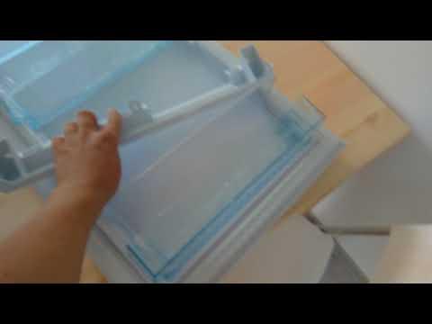 Как переставить дверь на холодильнике бирюса видео
