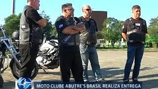 Moto clube realiza entrega de agasalhos para o Inverno Solidário