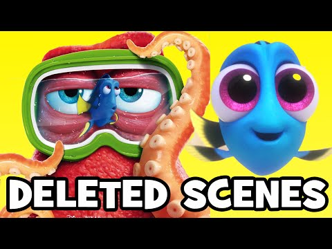 Finding Dory DELETED SCENES & Rejected Concepts
