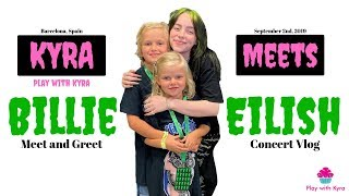 Kyra meets Billie Eilish!