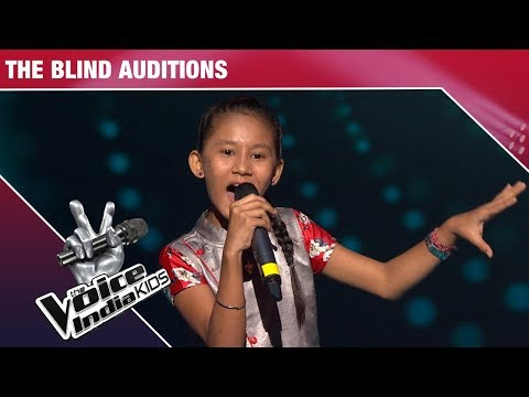 Manashi Performs On Jhoom Jhoom Jhoom Baba | The Voice India Kids | Episode 1