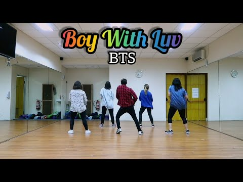 Boy With Luv - BTS ft Halsey Choreography DANCE  FITNESS  ZUMBA  At PHKT Balikpapan