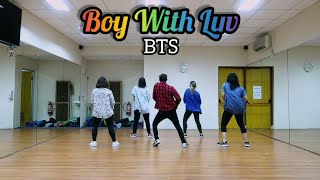 Boy With Luv - BTS ft. Halsey (Choreography) DANCE || FITNESS || ZUMBA || At PHKT Balikpapan