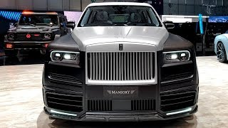 Rolls-Royce Cullinan Billionaire - Exclusive Project from Mansory