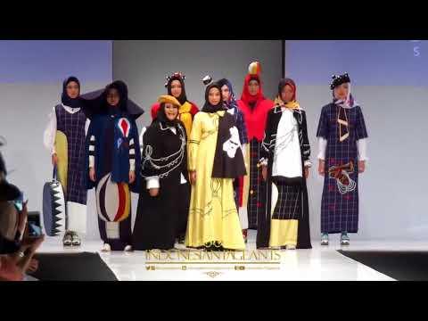 IP Fashion : Tiga Designer Muslimah Hadirkan Embroidery Sky di Jakarta Fashion Week 2018