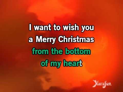 Karaoke Feliz Navidad   Jose Feliciano