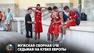 Мужская сборная U18 - седьмая на Кубке Европы