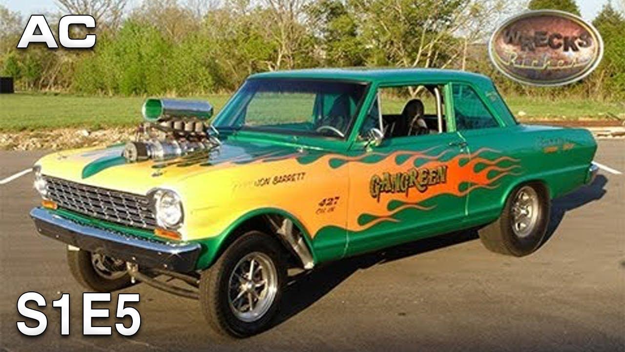 Wrecks to Riches | S1E5 | Mean Green | 1960s Chevy Nova