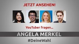 DeineWahl - Das offizielle Video zum LIVE-Stream. Angela Merkel ste...