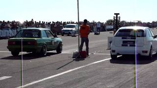 BMW E30 bi-moto EV vs focus st