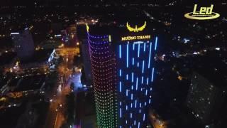 Chiếu sáng trang trí Khách sạn Mường Thanh Sông Lam - TP Vinh, Nghệ An