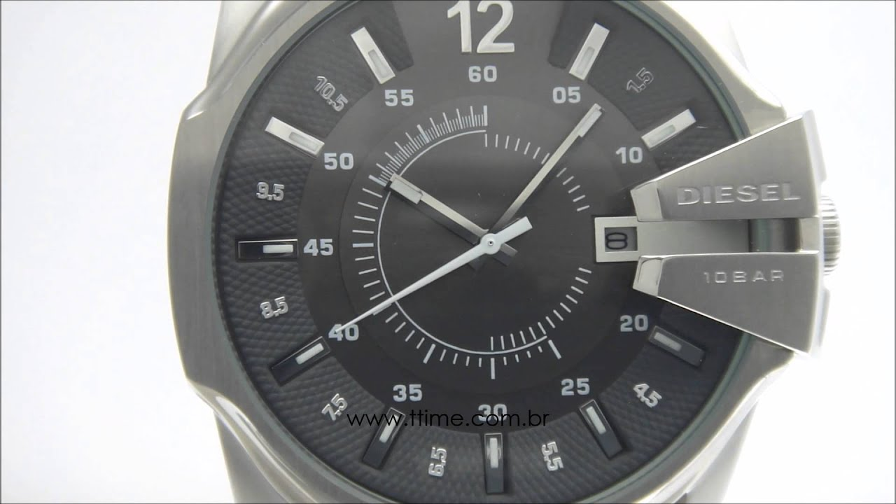 2cb598136fa Relógio Diesel Goose DZ1206 0CN - YouTube