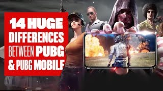 14 Big Differences Between PUBG Mobile and PUBG PC