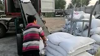The Process of Loading PVC Resin in Our Factory