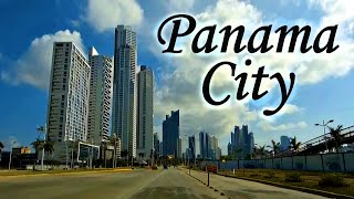 Panama City, Panama, skyline and tourist attractions