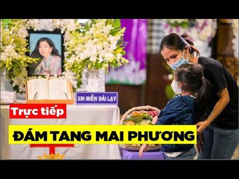 🔴TRỰC TIẾP: Đám tang tang lễ Mai Phương, chỉ cho phép 10 người đến viếng 1 lần