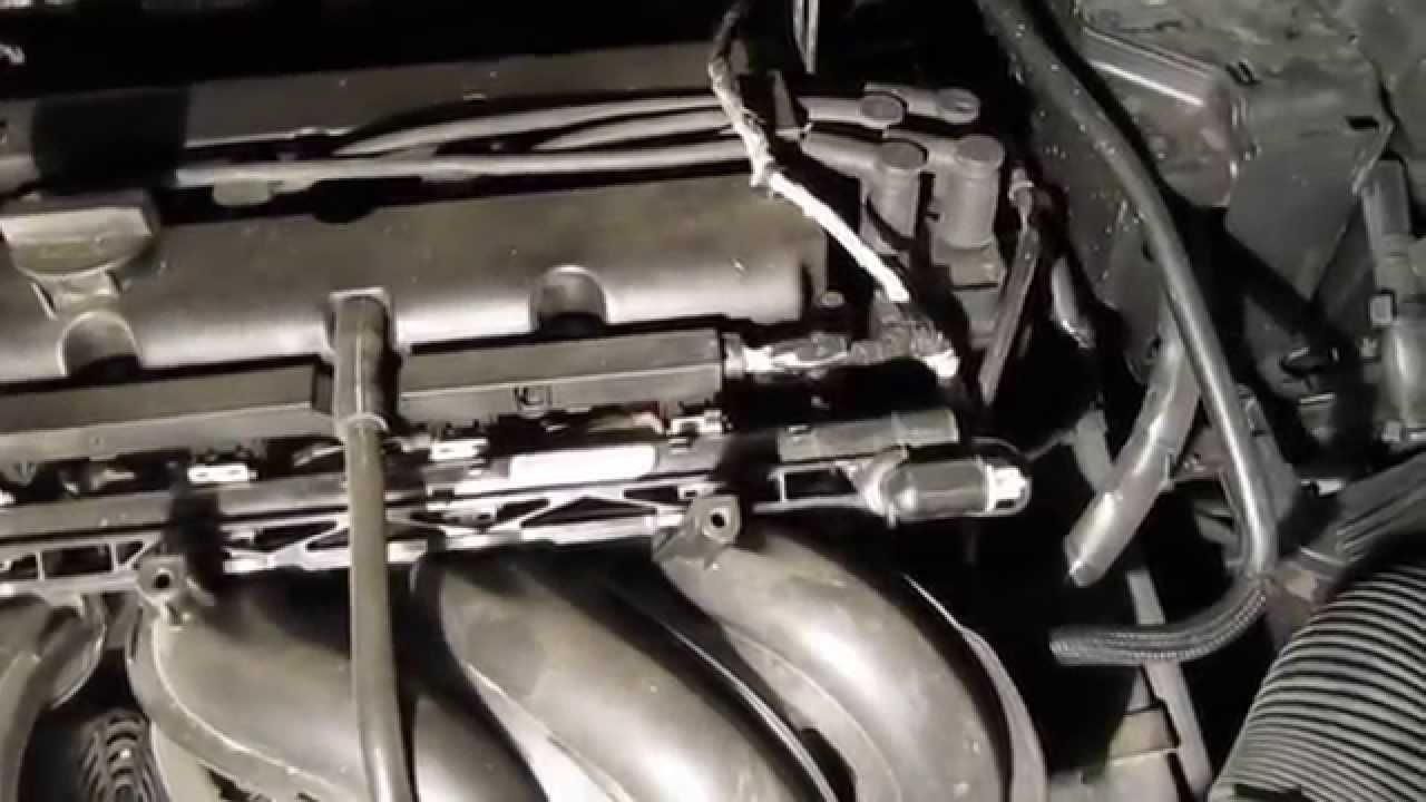 ford мотор гремит под нагрузкой