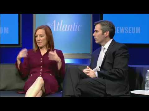 Kevin Madden and Jen Psaki / Washington Ideas 2012