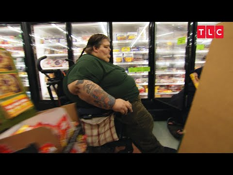 For This Overweight Couple, Grocery Shopping Is A Team Effort